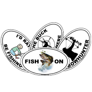 Fishing & Hunting Stickers