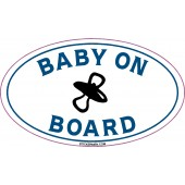 Baby On Board Blue