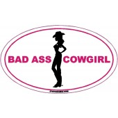 Bad Ass Cowgirl Pink