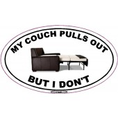 My Couch Pulls Out, But I Don't