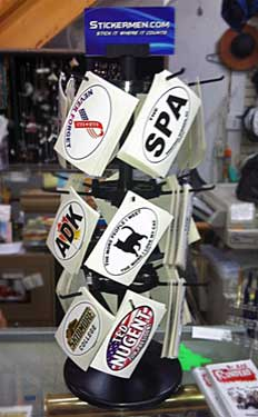 Large Wholesale Sticker Racks